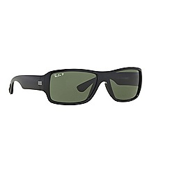 Ray-Ban - Black rectangle RB4199 sunglasses