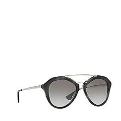 Prada - Grey PR12QS pilot sunglasses