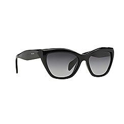 Prada - Black oversize '0PR02QS' sunglasses