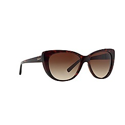 DKNY - Brown cat eye '0DY4109' sunglasses