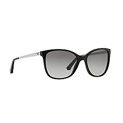Emporio Armani - Black cat eye '0EA4025' sunglasses