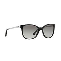 Emporio Armani - Black cat eye '0EA4025' sunglasses