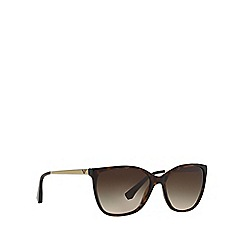 Emporio Armani - Dark Havana cat eye EA4025 sunglasses