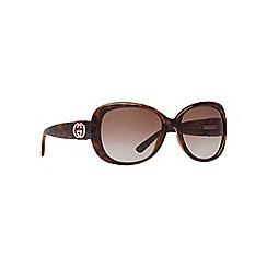 GUCCI - Brown square shape GG3644 sunglasses