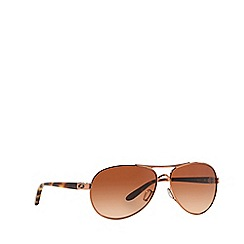 Oakley - Brown OO4079 pilot sunglasses