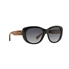 Coach - Black cat eye '0HC8083' sunglasses