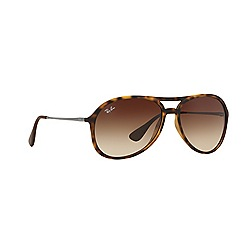 Ray-Ban - Brown alex aviator RB4201 sunglasses