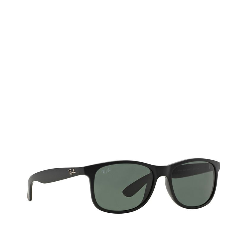 Ray-Ban Matte black 'Andy' rectangle RB4202 sunglasses