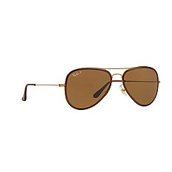 Ray-Ban - Gold pilot '0RB3513M' sunglasses