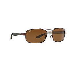 Ray-Ban - Brown rectangle RB8316 sunglasses