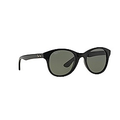 Ray-Ban - Black round RB4203 sunglasses