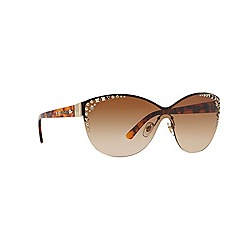 Versace - Gold cat eye '0VE2152' sunglasses