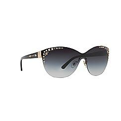 Versace - Gold cat eye '0VE2152' sunglasses
