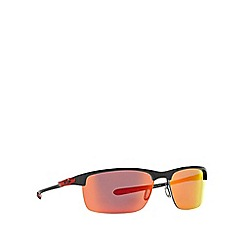 Oakley - Grey rectangle '0OO9174' sunglasses