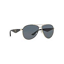 Prada - Gold pilot PR 53QS sunglasses