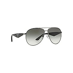 Prada - Grey aviator '0PR53QS' sunglasses