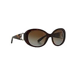 Ralph Lauren - Brown oval RL8118Q sunglasses