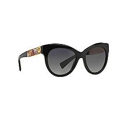 Dolce & Gabbana - Black round shape DG4215 sunglasses
