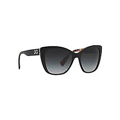 Dolce & Gabbana - Black butterfly '0DG4216' sunglasses