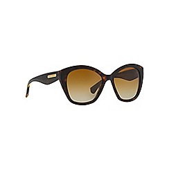 Dolce & Gabbana - Brown square shape DG4220 sunglasses