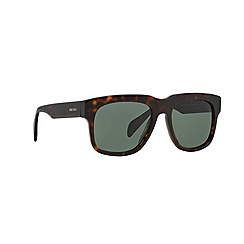 Prada - Brown d-frame '0PR14QS' sunglasses