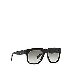 Prada - Black d-frame '0PR14QS' sunglasses