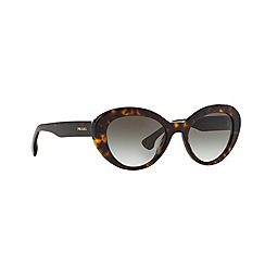 Prada - Brown round '0PR15QS' sunglasses