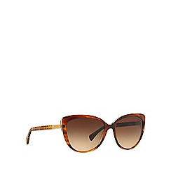 Ralph - Brown cat eye 0RA5185 sunglasses