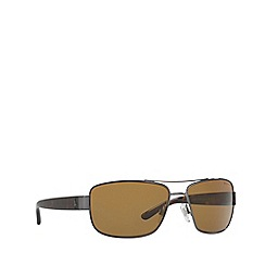 Polo Ralph Lauren - Gunmetal pillow male sunglasses