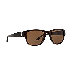 Polo Ralph Lauren - Brown square '0PH40860' sunglasses