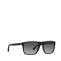 Emporio Armani - Black EA4033 square sunglasses