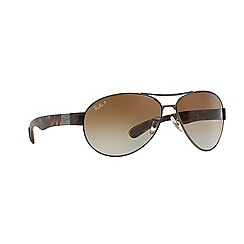 Ray-Ban - Gunmetal  aviator RB3509 sunglasses