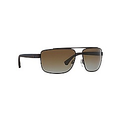 Emporio Armani - Brown EA2018 square sunglasses