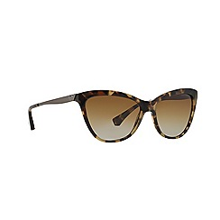 Emporio Armani - Havana cat eye EA4030 sunglasses