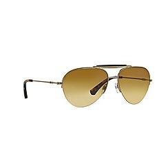 Emporio Armani - Gold pilot '0EA2020' sunglasses