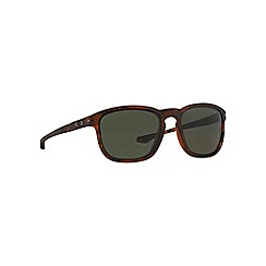 Oakley - Brown oval '0OO9223' sunglasses