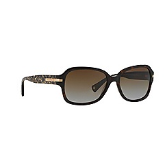 Coach - Brown rectangle '0HC8105' sunglasses