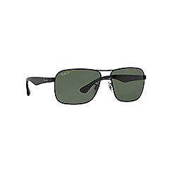 Ray-Ban - Black square '0RB3516' sunglasses