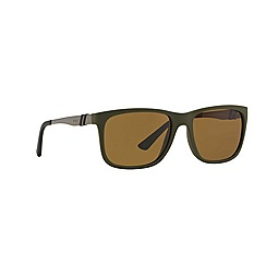 Polo Ralph Lauren - Green PH40880 rectangle sunglasses