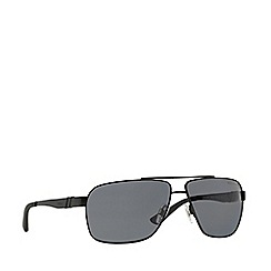 Polo Ralph Lauren - Black rectangle PH3088 sunglasses