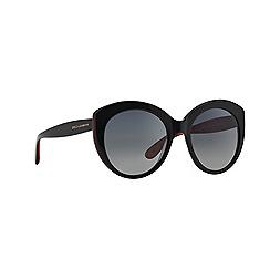 Dolce & Gabbana - Black round DG4227 sunglasses