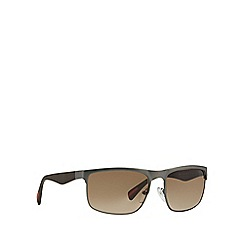 Prada Linea Rossa - Grey rectangle '0PS56PS' sunglasses