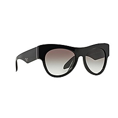 Prada - Black aviator '0PR28QS' sunglasses