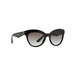 Prada - Black round '0PR23QS' sunglasses