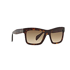 Prada - Brown square '0PR25QS' sunglasses