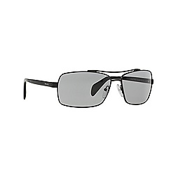 Prada - Black rectangle PR 55QS sunglasses