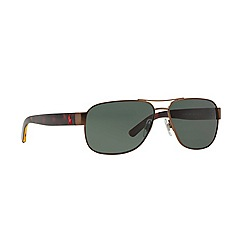 Polo Ralph Lauren - Brown square '0PH30890' sunglasses