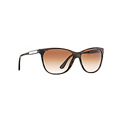 Ralph Lauren - Brown RL8120 cat eye sunglasses