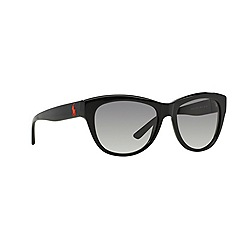 Ralph Lauren - Black butterfly '0RL8122' sunglasses
