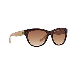 Ralph Lauren - Brown butterfly '0RL8122' sunglasses
